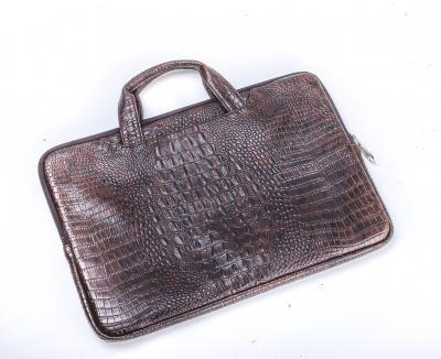Leather Print Laptop Sleeve